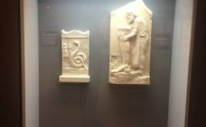 Exhibition of the Hippocratic Foundation Athens Marble reliefs from patients in ancient Greece