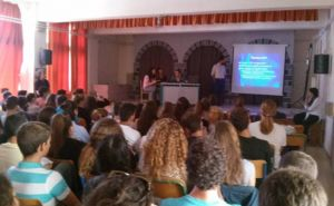 Voluntary action in the High School of the Municipality of Poros October 2015
