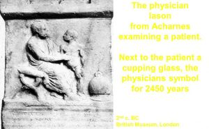 Physician Iason examing apatient 2nd Century BC-British Museum London